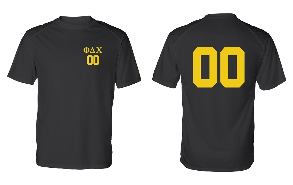 Phi Delta Chi Intramural Poly Jersey