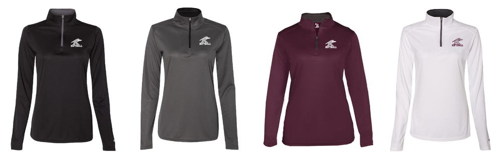 Badger Ladies 1/4 zip