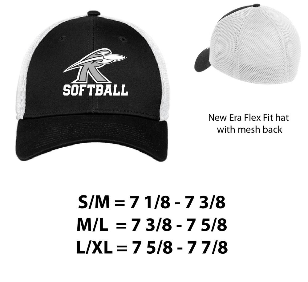 New Era Flex Fit Mesh Hat