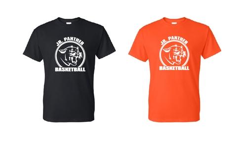 Junior Panther Basketball Short Sleeve Shirts