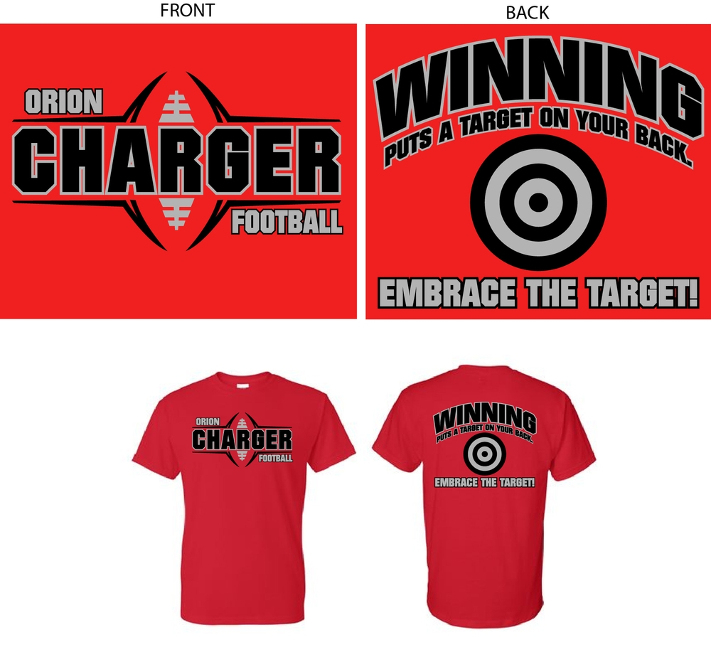 2019 High School Camp Shirts