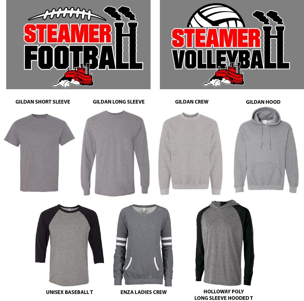 Football/Volleyball Smokestack Design