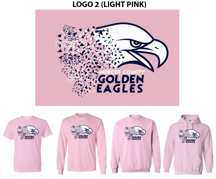 Logo 2 (Light Pink Shirts)