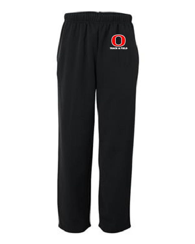 OHSTrack and Field Open Bottom Sweatpants