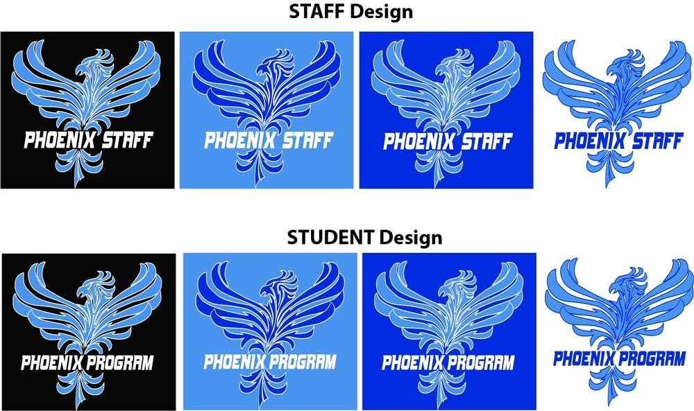 Phoenix Program Staff and Student Shirts