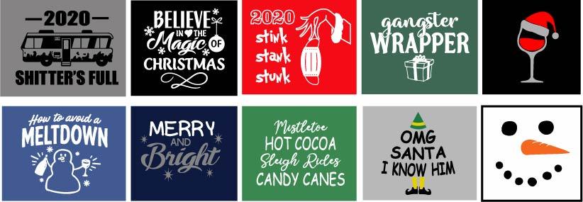 Holiday Theme Shirts