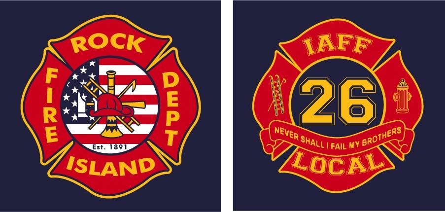 RI Fire Dept.  / IAFF Local 26  Masks