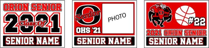 OHS 2021 Senior Yard Signs