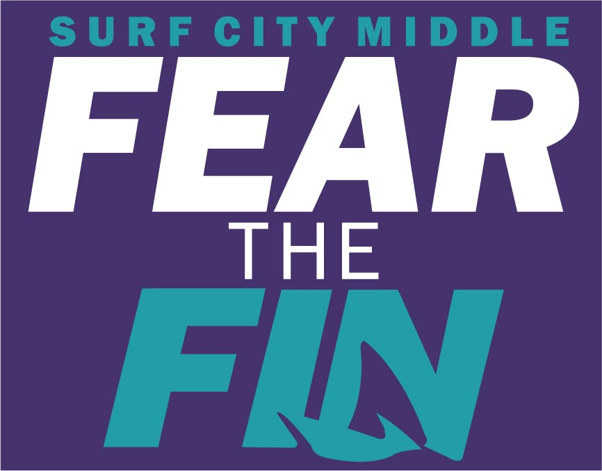 Surf City Middle - Fear The Fin