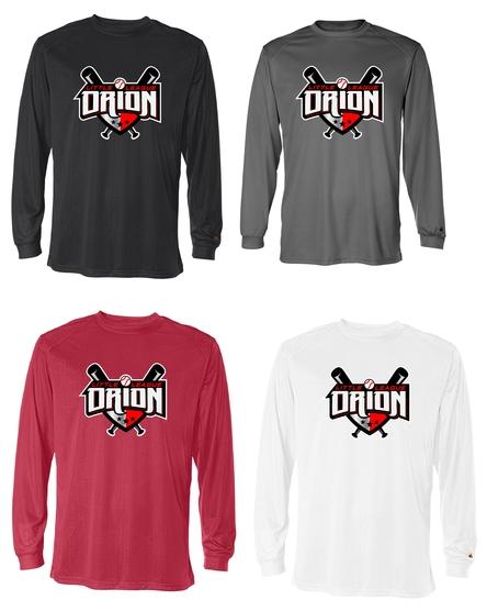 Orion Little League Spiritwear Poly Long Sleeve