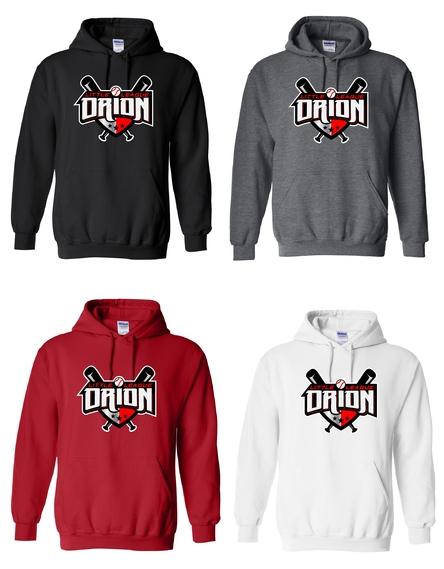 Orion Little League Spiritwear Hooded Sweatshirt