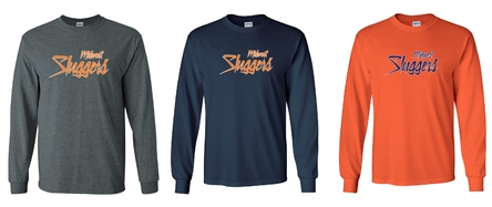 Midwest Sluggers Long Sleeve T-Shirt