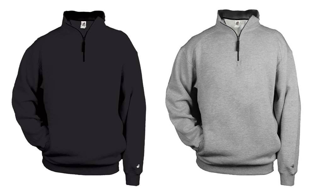 Orion Outlaws Badger - Quarter-Zip Fleece Pullover