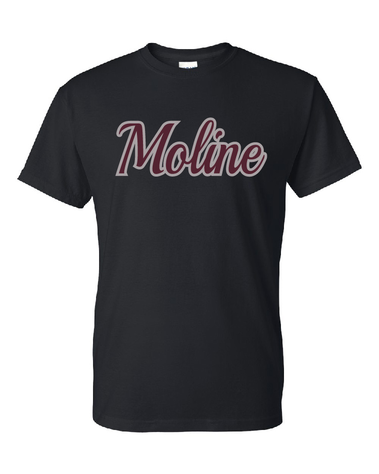 Moline Glitter Short Sleeve Design 3
