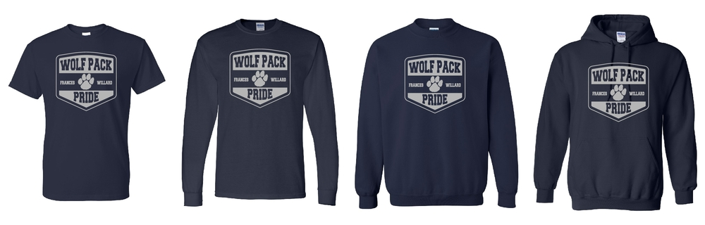 Wolfpack Pride T-shirts and Sweatshirts