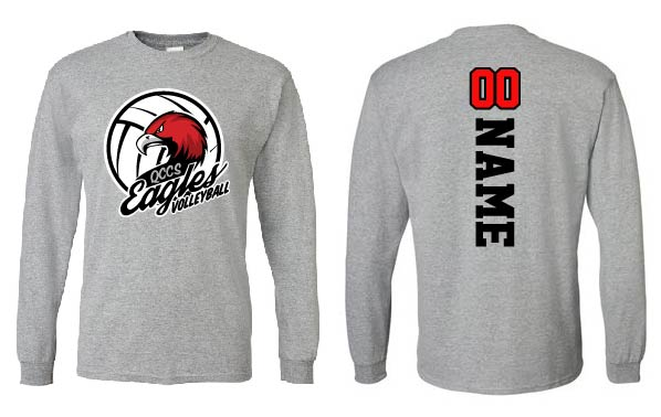 Gray Long Sleeve (PLAYERS ONLY)