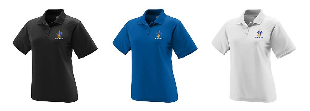 Ladies One Color Polo