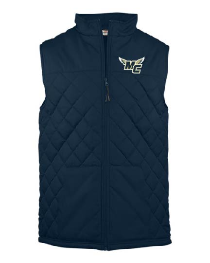 Badger Ladies Quilted Vest