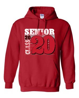 2020 Orion Senior Hooded Sweatshirt