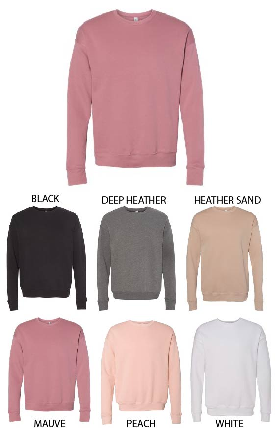 Bella Fleece Crew Sweatshirt