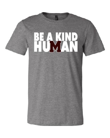 Be A Kind Human-Bella T-shirt