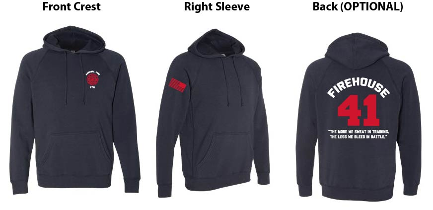 Independent Trading Co. Slim Fit Hoodie