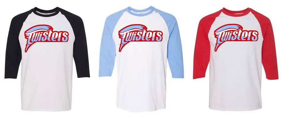 Raglan Baseball T (Glitter Design)