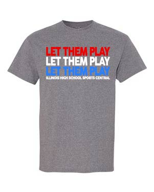 Let Them Play T-shirts