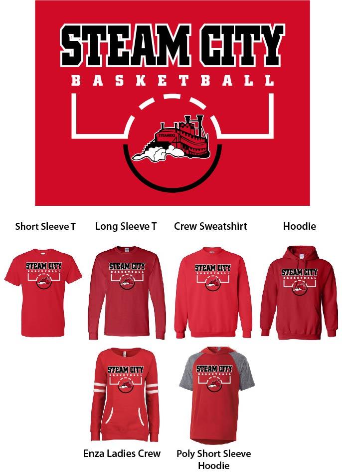 Steam City Basketball Design