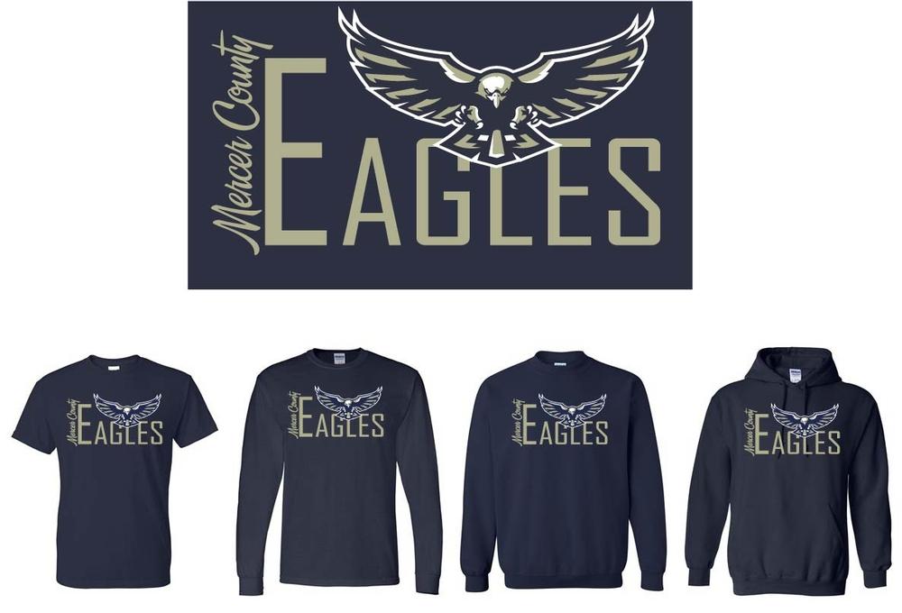 Mercer County Eagles Design
