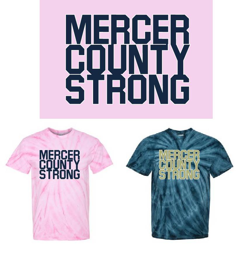 Mercer County Strong - Tie Dye