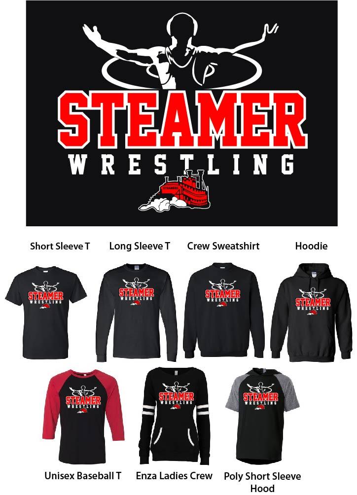 Steamer Wrestling Design