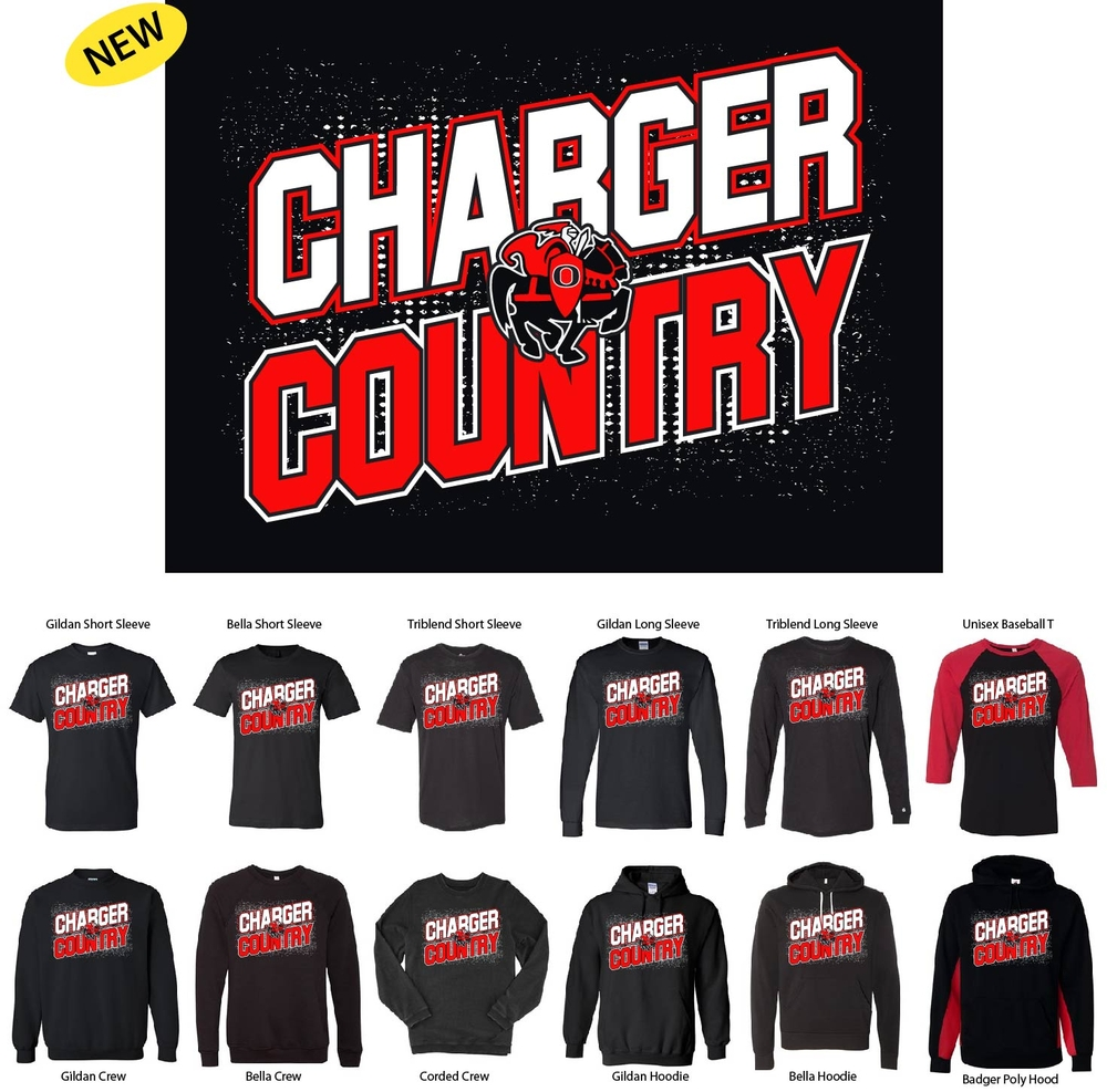 Charger Country Design